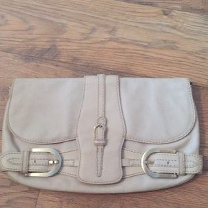 Handbags - Final ⚡️Jimmy Choo Clutch Purse, Beige